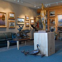 Wilcox Gallery in Jackson Hole has 6,000 square feet of exhibit space featuring some of the most talented representational artists in the world.