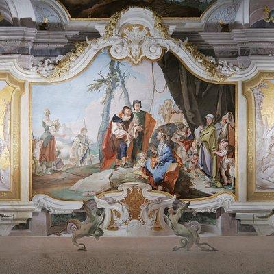 """uno spettacolo di colori: """"La Galleria degli ospiti"""". Magico Tiepolo!"""