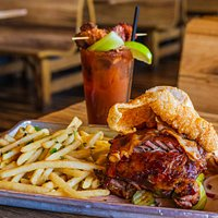 The Porker paired with Bloody Mary