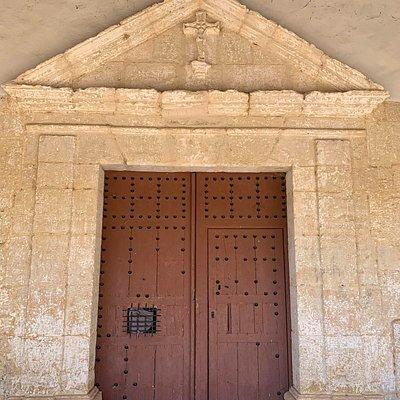 Dintel entrada de la ermita