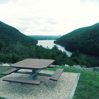 Colebrook River Lake on the Farmington River