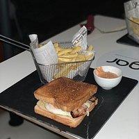 Increíble sándwich!!! Rico rico !!!