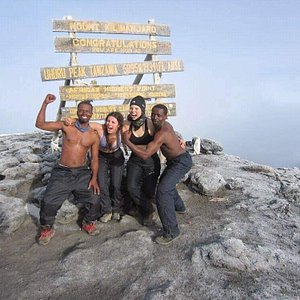 We are proud ourself to be on top of mount Kilimanjaro 5895m from sea level