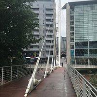 Trinity Bridge by Calatrava.