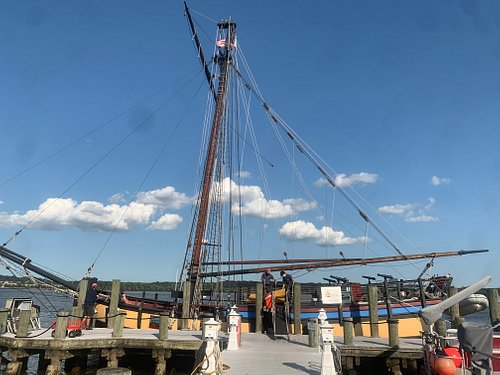 The Providence at her new home in Old Town Alexandria, Virginia