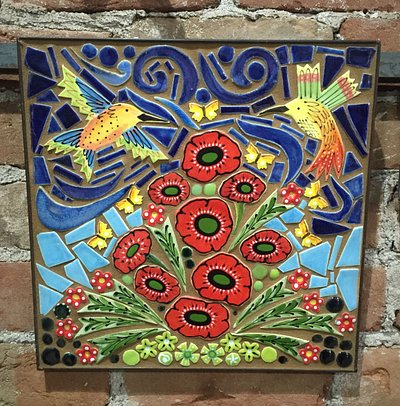 Mosaic for sale in the showroom
