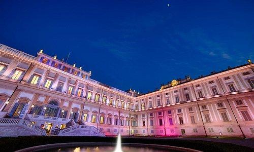 Villa Reale di Monza - Archivio Consorzio Villa Reale e Parco di Monza - Fotografo Mario Donadoni