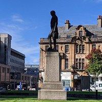 Alexander Wilson Statue