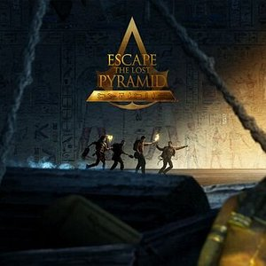 """Escape The Lost Pyramid: Escape The Lost Pyramid is an escape game in Virtual Reality, taking place in the world of Assassin's Creed Origins.  Welcome to the Animus. February 1928.  An expedition led by Sir Beldon Frye disappears somewhere in the Sinai Peninsula. A team of four and a dozen local porters were looking for the Lost Pyramid of Nebka… Or more precisely, """"something"""" that should have been there. They were never seen again. Using the simulation reconstructed from their DNA memory, your"""