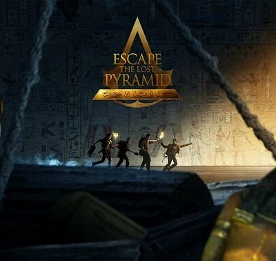 "Escape The Lost Pyramid: Escape The Lost Pyramid is an escape game in Virtual Reality, taking place in the world of Assassin's Creed Origins.  Welcome to the Animus. February 1928.  An expedition led by Sir Beldon Frye disappears somewhere in the Sinai Peninsula. A team of four and a dozen local porters were looking for the Lost Pyramid of Nebka… Or more precisely, ""something"" that should have been there. They were never seen again. Using the simulation reconstructed from their DNA memory, your"