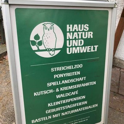 Haus der Natur und Umwelt dom prírody a životného prostredia Berlin