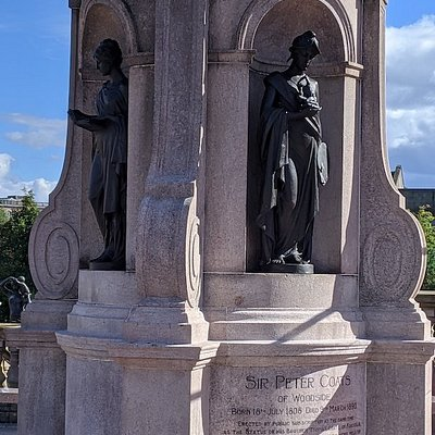 Sir Peter Coats Statue