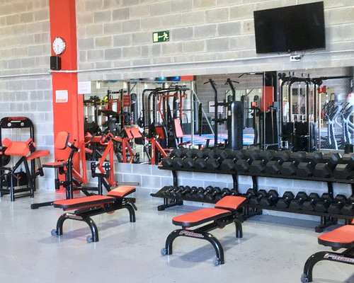 Sala de pesas del Last Fight Gym