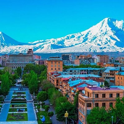 Armenia is a nation, and former Soviet republic, in the mountainous Caucasus region between Asia and Europe. Among the earliest Christian civilizations, it's defined by religious sites including the Greco-Roman Temple of Garni and 4th-century Etchmiadzin Cathedral, headquarters of the Armenian Church.