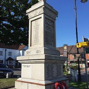 2.  Hawkhurst War Memorial, Hawkhurst, Kent