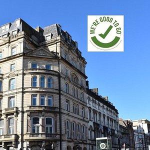 Hotel Award Covid Safe Accreditation by Visit Britain