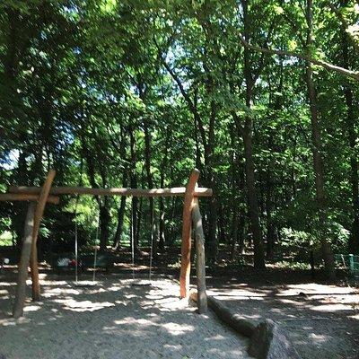 Kinderspielplatz an der Luiseninsel - detské ihirsko