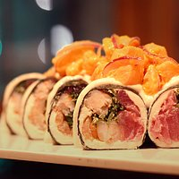 Tuna roll sin arroz
