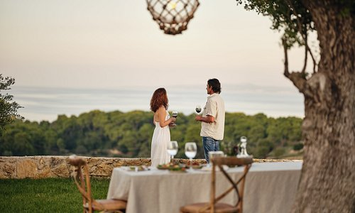 A sublime experience of private dinner at Logothetis Organic Farm.Enjoying genuine local dishes with high quality ingredients and natural farm wines.And all this with breathtaking views of the surrounding country side and the Ionian sea! Tough to beat!!!