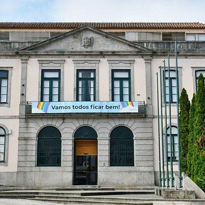 Fachada do Edifício da Câmara Municipal de Gondomar