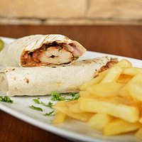 Shish Tawouk wrap