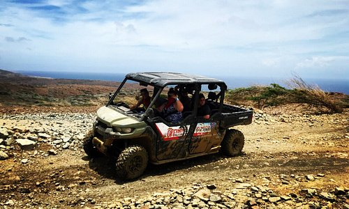 Big Family? Go all together in our 6 seater UTV's with bluetooth speakers !