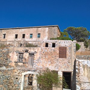 part of the sick people village, hospital on top