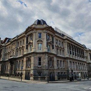 Louisa Ryland House along Edmund Street