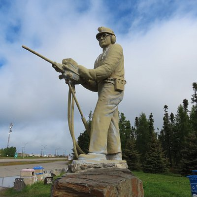 A great tribute to the hard-working and talented miners in the area.