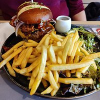 hamburger van de chef