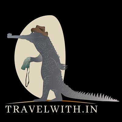 new logo with gharial