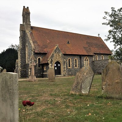 1.  Commonwealth War Grave, Reculver