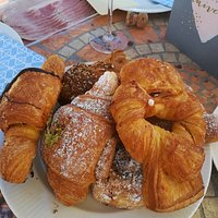 Just a taste of the pastries