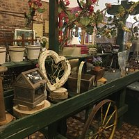 We are  now Elm STreet Marketplace. Vintage-Gifts-Home Decor! Even more to see!  Stop by and visit!