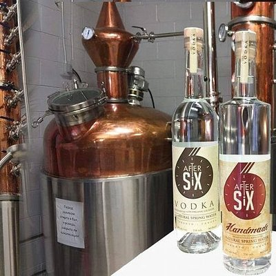 After Six vodka made by North Spirit Distillery