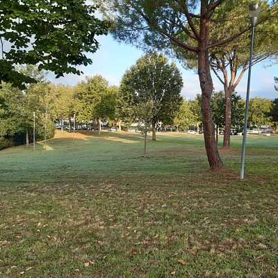 panoramica del parco pubblico