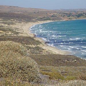 Makris Gialos beach - Lemnos, Greece
