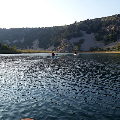 supping along river Zrmanja, 40 mintues away from Biograd