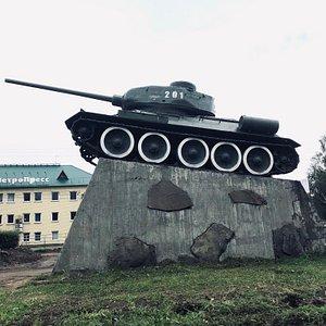Внешний вид памятника