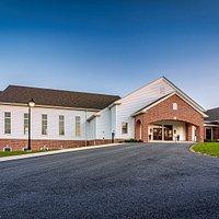 Brick Lane Community Church in Elverson, Pennsylvania  Photo credit, G.L. Wise Masonry  https://www.glwisemasonry.com/brick-lane-community-church.html
