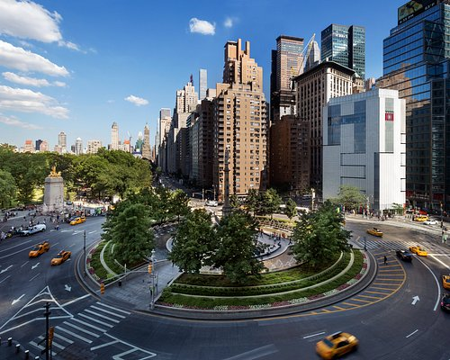 The Museum of Arts and Design located on Columbus Circle and next to Central Park.