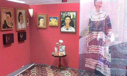 Frida Kahlo  Ausstellung in Baden-Baden im Kunstmuseum Gehrke-Remund  / www.Kunstmuseum-Gehrke-Remund.org