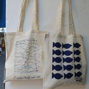 The original Amalfi fish tote bag
