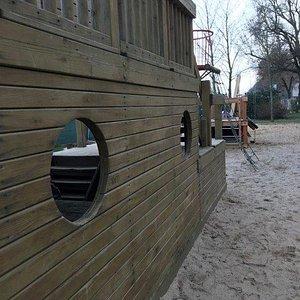 Piraten Spielplatz - detské ihirsko