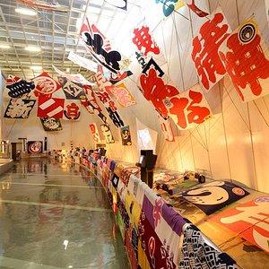 凧展示室 / Kite exhibition room