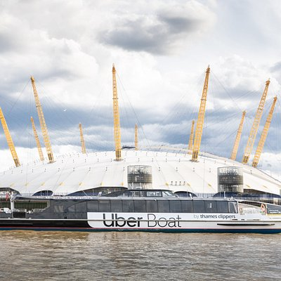 Uber Boat by Thames Clippers & North Greenwich (The O2)