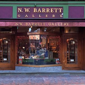 N.W. Barrett Gallery in Portsmouth NH. Fine arts and crafts gallery professionally curated and staffed.
