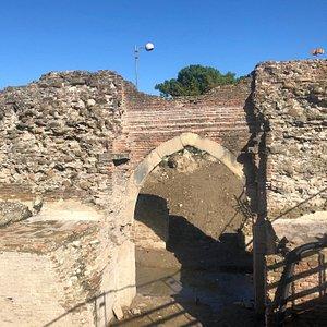 Porta Galliana riportata alla luce