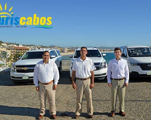 FROM THE LOS CABOS INTERNATIONAL AIRPORT, OUR TEAM IS WAITING FOR YOU TO PROVIDE YOU WITH THE BEST SERVICE AND A BIG SMILE