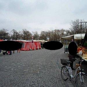 Wochenmarkt Ingolstadt Christkindmarkt